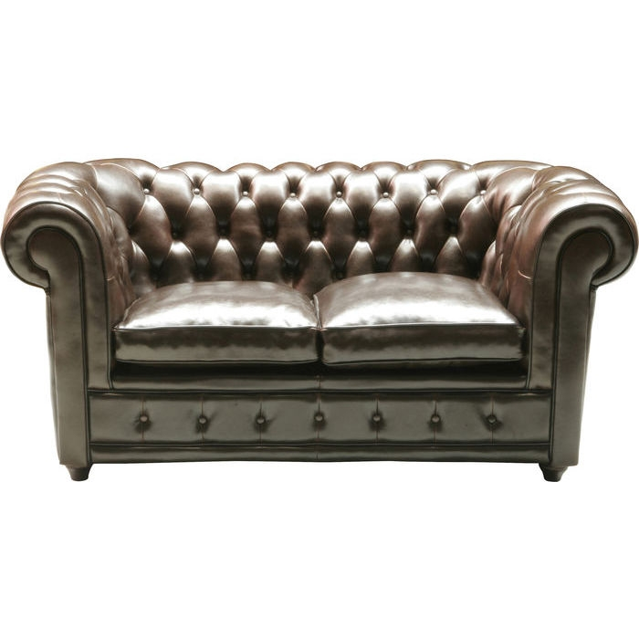 Sofa Oxford 2 Seater Cast Leather Kare Design Sofa nicely with Oxford Sofas (Image 17 of 20)