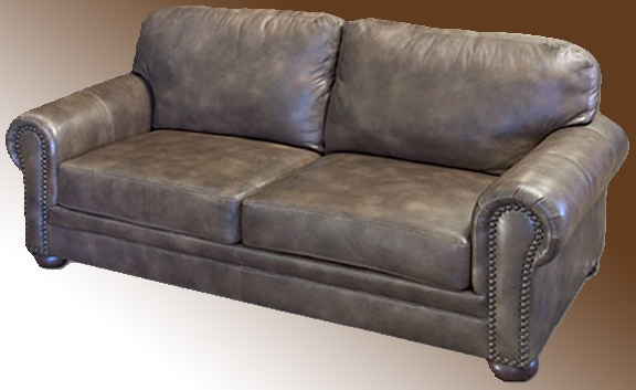 Sofa Top Grain American Leather Hardwood Frame definitely intended for Full Grain Leather Sofas (Image 18 of 20)