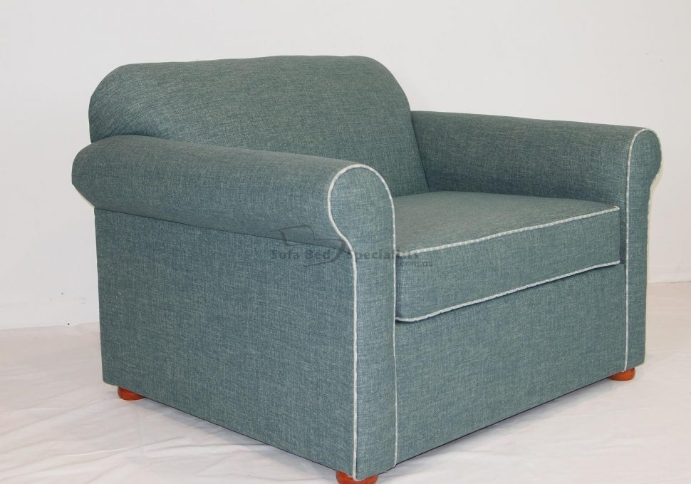Sofas Center 30 Impressive Single Sofa Bed Chair Photos very well regarding Single Sofa Bed Chairs (Image 19 of 20)