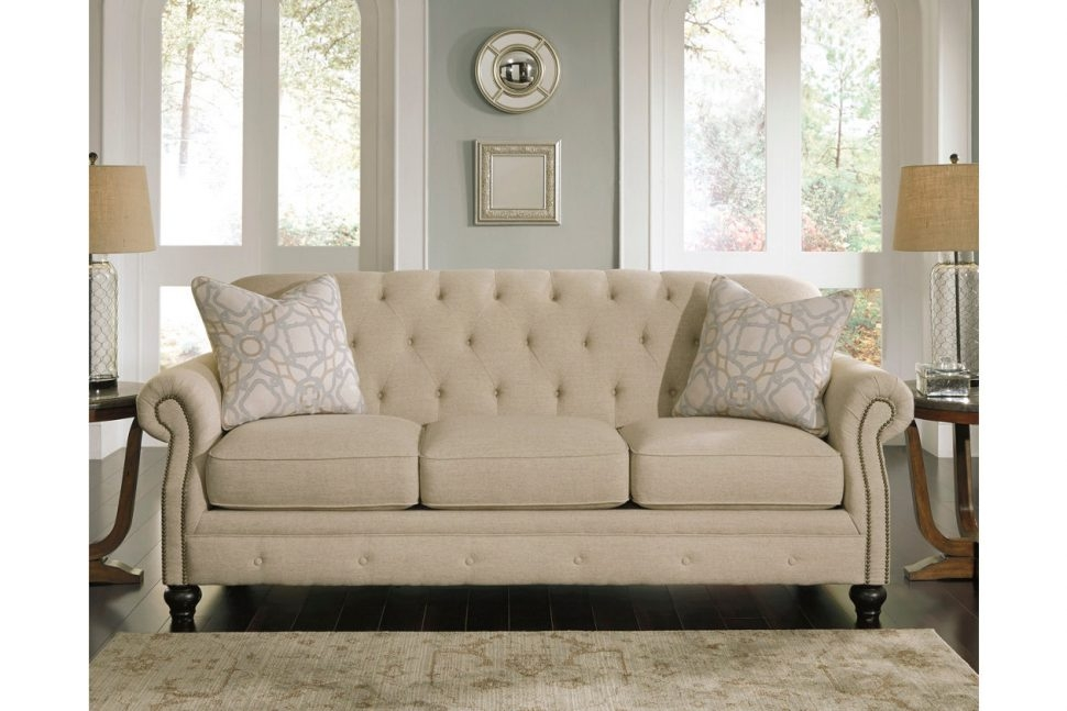 Sofas Center Ashley Furniture Tufted Sofa Leather Sofaashley definitely with Ashley Tufted Sofa (Image 16 of 20)