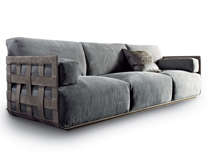 Sofas Center High End Large Velvet Modular Corner Sofa Juliettes most certainly within Modular Corner Sofas (Image 19 of 20)