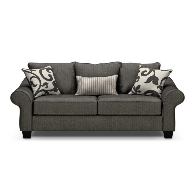 Sofas Center The Giorgio Collection American Signature Furniture very well inside City Sofa Beds (Image 17 of 20)