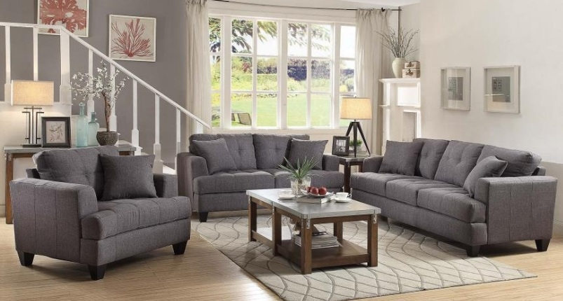 Sofas Couch And Sectionals On The Web And In Chicago And Evanston good regarding Affordable Tufted Sofa (Image 18 of 20)