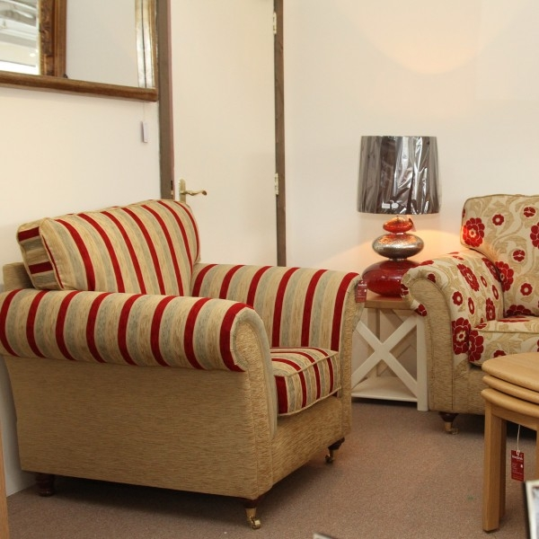 Sofas Ireland Saoirse Sofa Set Stripe And Floral 311 properly pertaining to Floral Sofas And Chairs (Image 20 of 20)