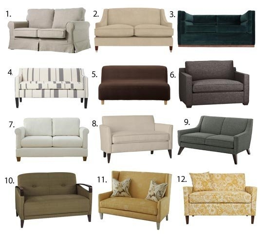 Sofas Loveseats A Guide To The Most Popular Styles Available effectively for 6 Foot Sofas (Image 20 of 20)