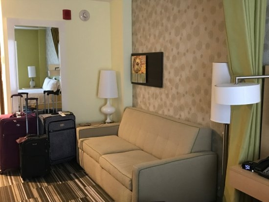 Sofasofa Bed Picture Of Home2 Suites Hilton New York Long definitely with regard to City Sofa Beds (Image 18 of 20)
