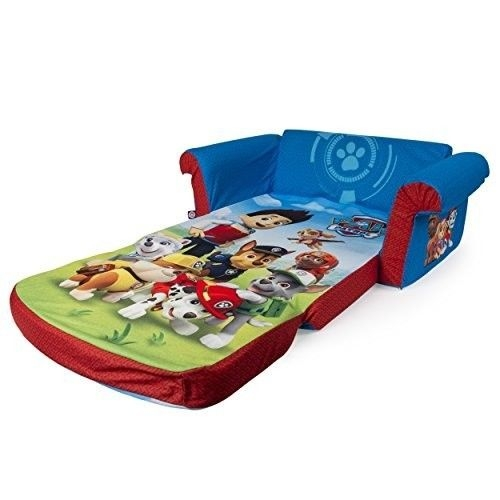 Soft Kids Furniture Sofa Chair Seat Lounger Open Toddler Bed Flip definitely pertaining to Toddler Sofa Chairs (Image 17 of 20)