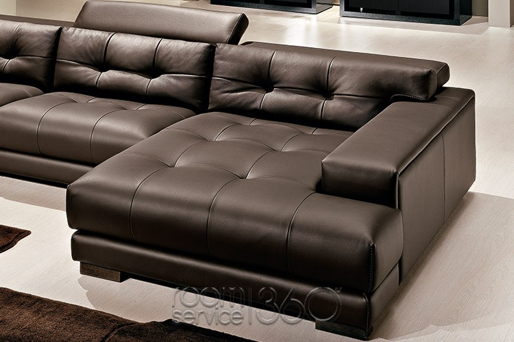 Soleado Italian Leather Sectional Sofa Gamma Arredamenti clearly pertaining to Extra Wide Sectional Sofas (Image 20 of 20)