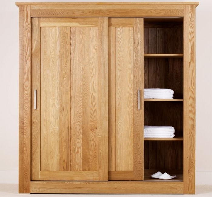 Featured Photo of Solid Wood Fitted Wardrobe Doors