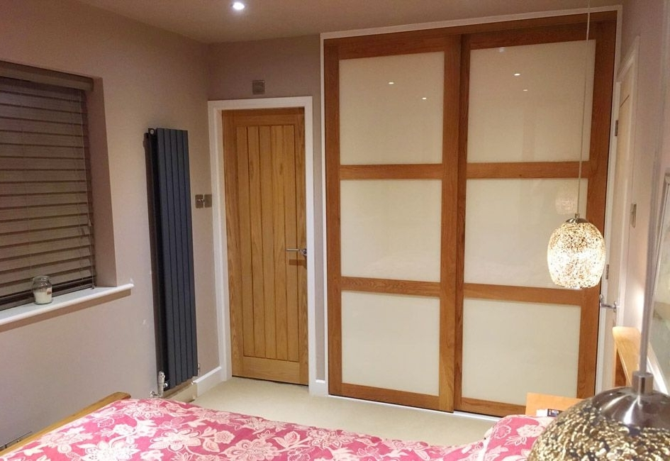 Solid Oak Framed Wardrobe Doors Lanarkshire perfectly in Solid Wood Fitted Wardrobe Doors (Image 11 of 30)