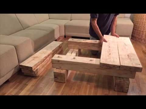 Solid Wood Coffee Table Home Simanart Youtube Definitely With Coffee Tables Solid Wood (View 16 of 20)