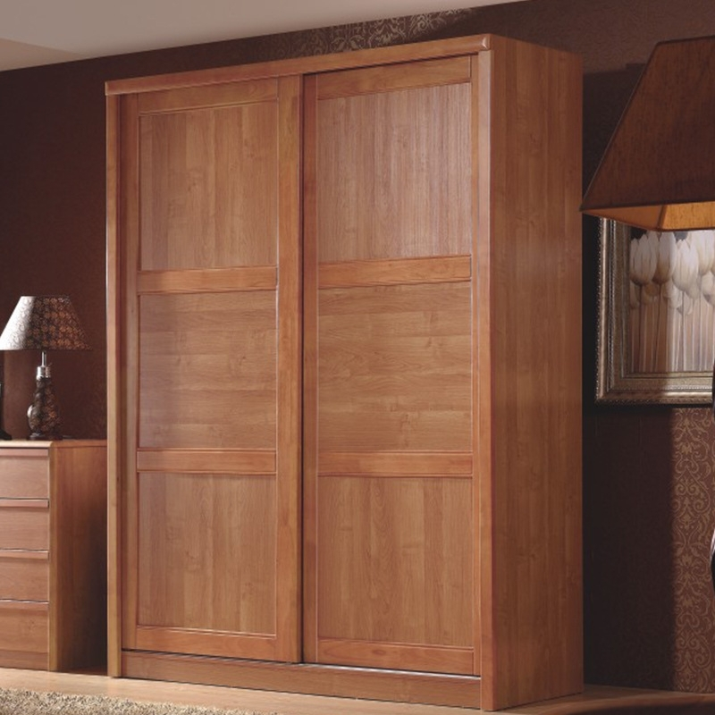 Solid Wood Wardrobe Closet Roselawnlutheran definitely within Solid Wood Fitted Wardrobe Doors (Image 21 of 30)