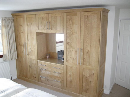Solid Wood Wardrobes definitely intended for Solid Wood Built in Wardrobes (Image 15 of 20)