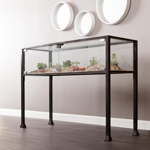 Sophisticated Metal And Glass Sofa Table Accent Tables Black Metal definitely for Metal Glass Sofa Tables (Image 19 of 20)