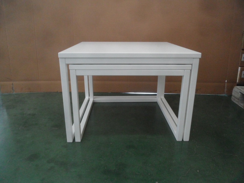 Stackable End Table Sets Wooden Nesting End Side Tables Stackable Very Well For Stackable Coffee Tables (View 17 of 20)