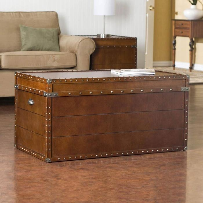 Storage Trunk Coffee Table Jericho Mafjar Project Perfectly Within Storage Trunk Coffee Tables (View 15 of 20)