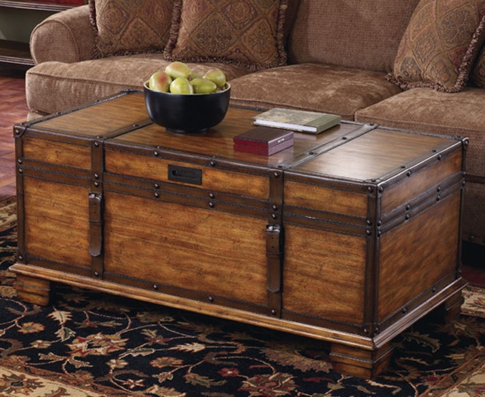 Popular Photo of Storage Trunk Coffee Tables
