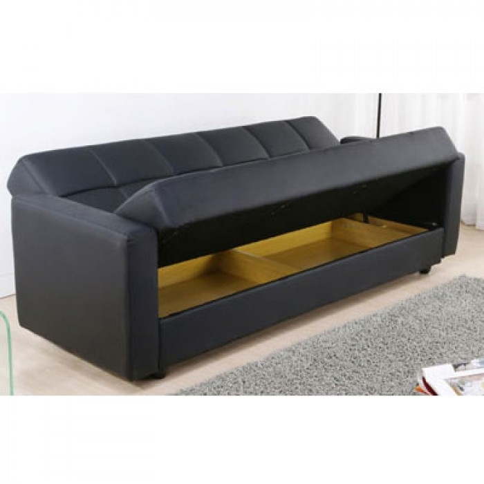 Stunning Leather Sofa Bed With Storage Sofa Sofa Bed Storage Sofas very well inside Leather Sofa Beds With Storage (Image 20 of 20)