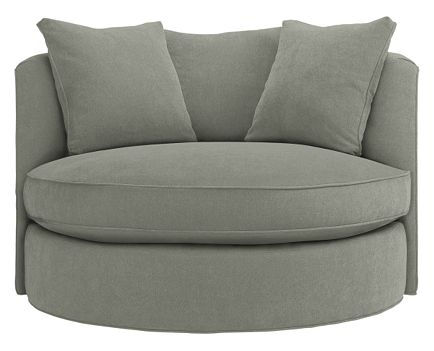 Stunning Round Swivel Sofa Chair certainly intended for Spinning Sofa Chairs (Image 19 of 20)