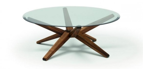 Stunning Round Wood And Glass Coffee Table Coffee Table Unique definitely pertaining to Unique Small Glass Coffee Table (Image 16 of 30)