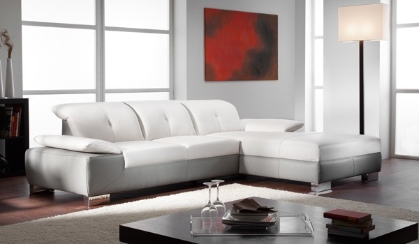 Stunning Two Tone Leather Sofa Modern Two Tone Leather Sectional definitely with Two Tone Sofas (Image 18 of 20)