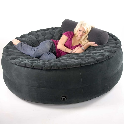 Sumo Sac Beanless Bean Bag Chair Bed For The Home Pinterest certainly throughout Bean Bag Sofas And Chairs (Image 19 of 20)