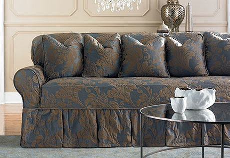 Sure Fit Category Certainly Pertaining To Sofa Settee Covers (View 18 of 20)