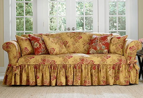 Sure Fit Category certainly regarding Slipcovers Sofas (Image 10 of 20)