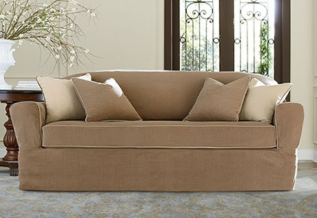 Sure Fit Category definitely within Slipcovers Sofas (Image 13 of 20)