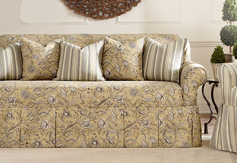 Sure Fit Category good throughout Slipcovers Sofas (Image 14 of 20)