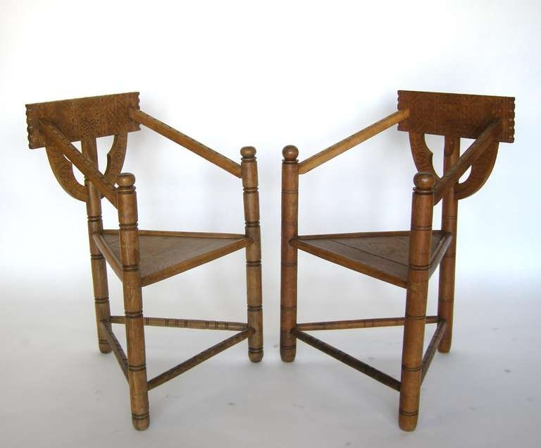 Swedish Monk Chairs At 1stdibs very well for Monk Chairs (Image 20 of 20)