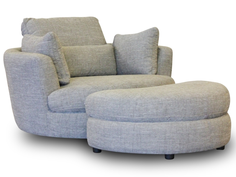 Swivel Sofa Chairs Thesofa properly with regard to Spinning Sofa Chairs (Image 20 of 20)