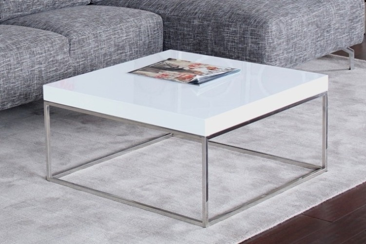 Table Square White Coffee Table Home Interior Design perfectly pertaining to White Coffee Tables With Storage (Image 13 of 20)