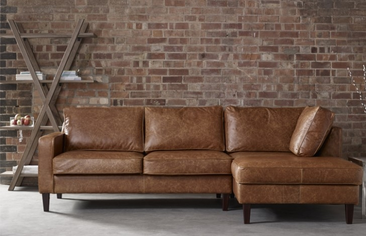 Tan Leather Corner Sofa Google Search Inspiration For Wilko clearly inside Small Brown Leather Corner Sofas (Image 14 of 20)
