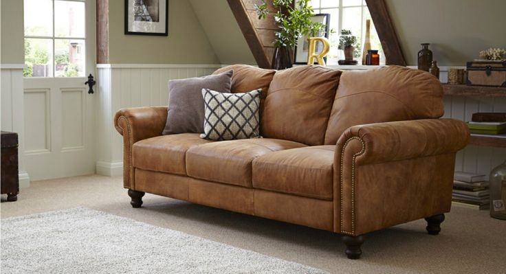 Tan Leather Sofa Dfs House Ideas Pinterest Tan Leather effectively with Light Tan Leather Sofas (Image 18 of 20)