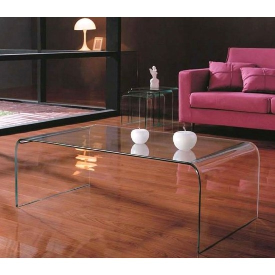 Tempered Glass Coffee Table properly for Floating Glass Coffee Tables (Image 17 of 20)