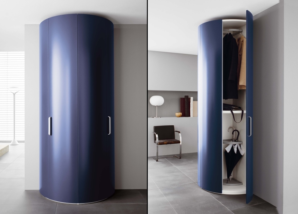 Tempo Curved Wardrobe Fitted Wardrobes Bedroom Furniture good in Curved Wardrobe Doors (Image 4 of 20)