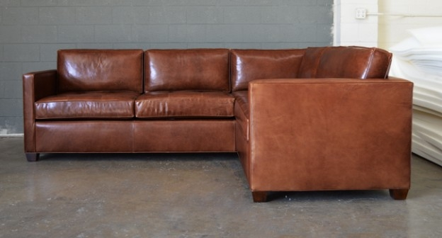 Testimonial From Jason Arizona Mini L Sectional Sofa Brompton certainly within Vintage Leather Sectional Sofas (Image 20 of 20)