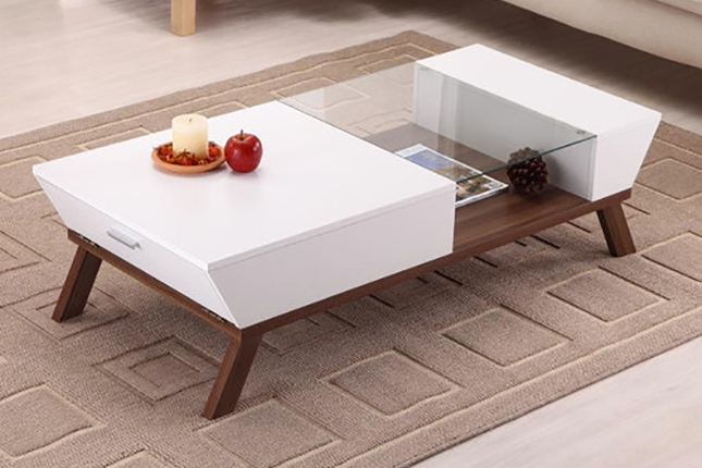 The 50 Most Beautiful Coffee Tables Ever Via Brit Co Cool properly intended for Wood Modern Coffee Tables (Image 18 of 20)