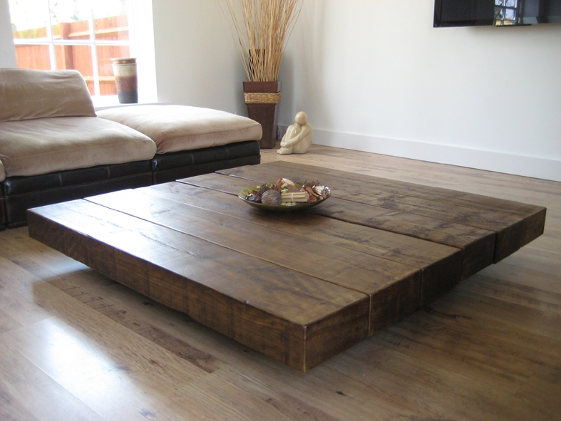 The Beautiful Pedestal Coffee Table From The Cool Wood Company properly intended for Oversized Round Coffee Tables (Image 20 of 20)