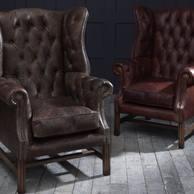 The Chesterfield Co Leather Chesterfield Sofas Armchairs More certainly inside Chesterfield Furniture (Image 18 of 20)