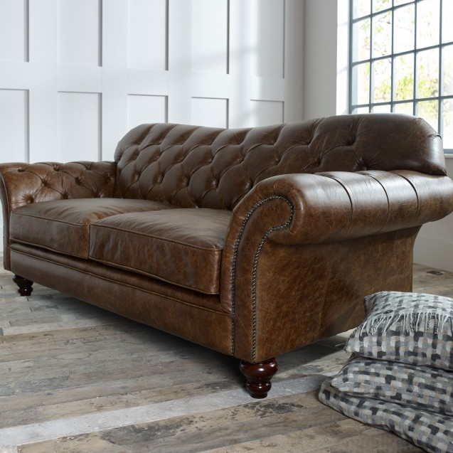 The Chesterfield Co Leather Chesterfield Sofas Armchairs More nicely in Leather Chesterfield Sofas (Image 19 of 20)