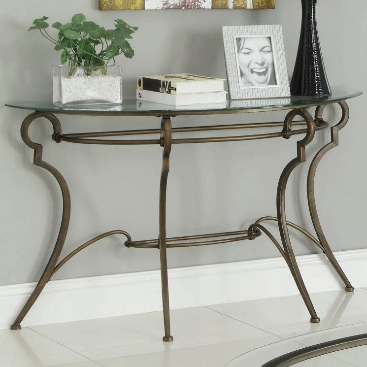 The Glass Sofa Table For Your Simple And Clean Living Room House properly with Metal Glass Sofa Tables (Image 20 of 20)