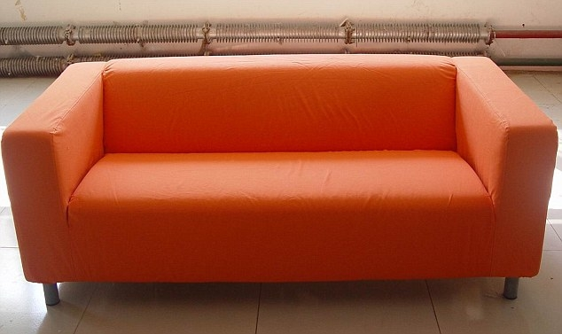 The Ikea Sofa Made Political Prisoners In Stasi Camps Daily most certainly throughout Orange IKEA Sofas (Image 19 of 20)