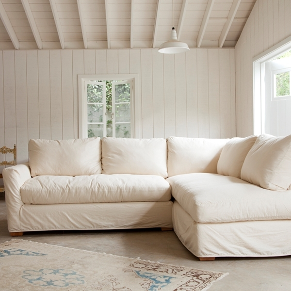 The Simple Sectional Sofa Down Feather Seat And Back Cushions very well regarding Craftsman Sectional Sofa (Image 19 of 20)