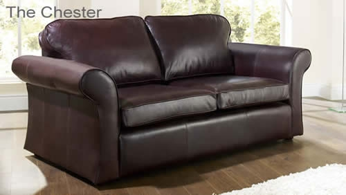 The Sofa Collection British Made Sofas Handmade In The Uk good pertaining to Aniline Leather Sofas (Image 20 of 20)