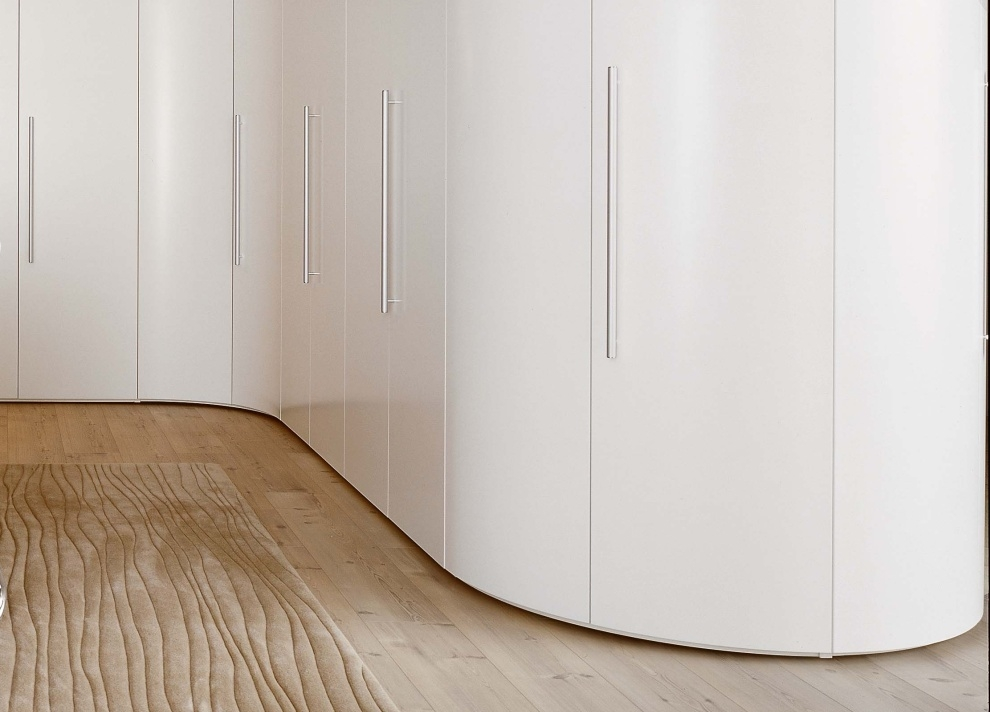 This Curved Wardrobe Is So Beautiful Get Organized Great certainly regarding Curved Wardrobe Doors (Image 12 of 20)