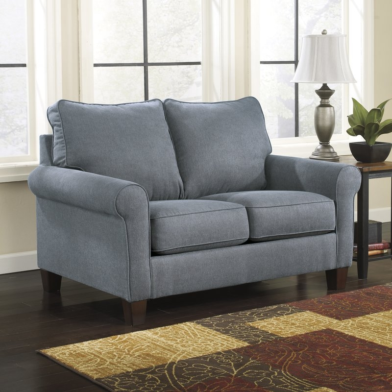 Three Posts Osceola Twin Sleeper Sofa Reviews Wayfair most certainly for Loveseat Twin Sleeper Sofas (Image 17 of 20)