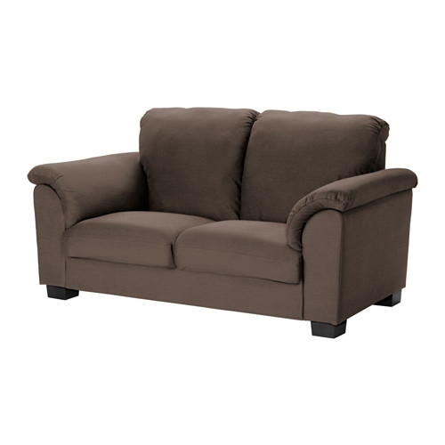 Tidafors Two Seat Sofa Dansbo Medium Brown Ikea definitely for IKEA Two Seater Sofas (Image 19 of 20)