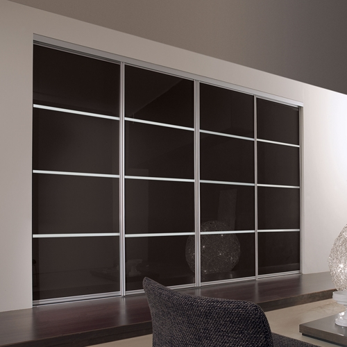 To Measure Sliding Wardrobe Doors Wall To Wall Glass Sliding very well intended for Wall Wardrobes (Image 16 of 20)
